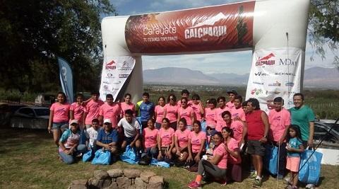 Importante número de competidores cafayateños en la Calchaquí Trail