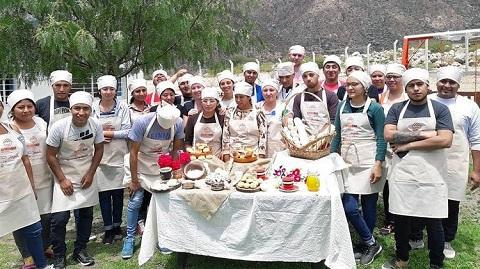 Alimendar: 90 cafayateños participan de la formación profesional gastronómica