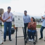 Michetti junto a Urtubey inauguraron el Parque de la Familia