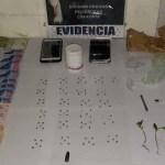 Joven detenido por microtráfico de drogas