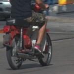 Detuvieron a un motochorro menor de edad