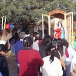 """La """"Sentadita"""" recorre los Barrios de Cafayate"""