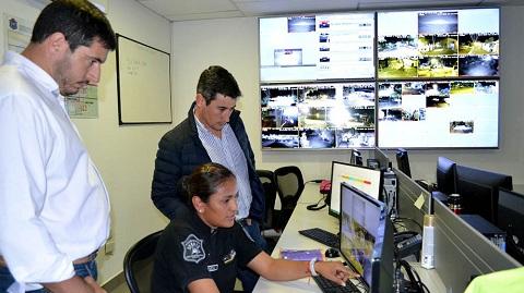 Supervisaron el Centro de Videovigilancia local