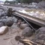 Preocupación por el estado del puente del Río Chuscha