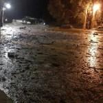 Desbordó el río Chuscha y provocó diversos daños,  hubo evacuados