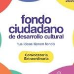 Los resultados del Fondo Ciudadano de Desarrollo Cultural serán publicados el viernes 22 de mayo