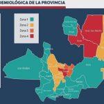 Coronavirus: dieron a conocer el mapa sanitario de Salta