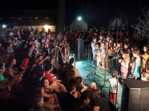 Carnaval en el Parque Vacacional de AEBU en Piriápolis