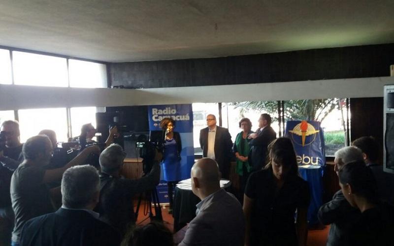 El Correo y AEBU presentaron el sello de los 75 años