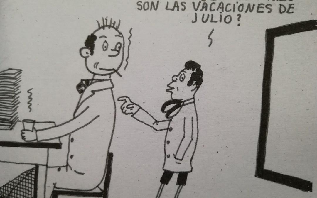 El humor en la escuela: Los dibujos del maestro Firpo
