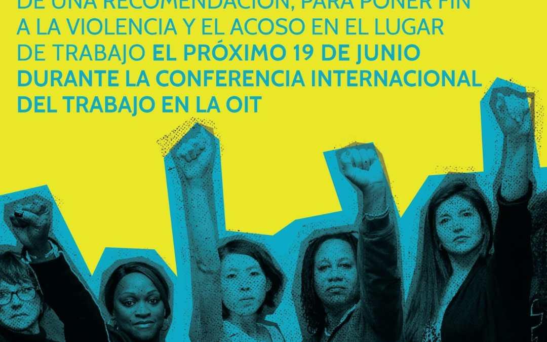 OIT votará convenio 190 sobre violencia y acoso laboral