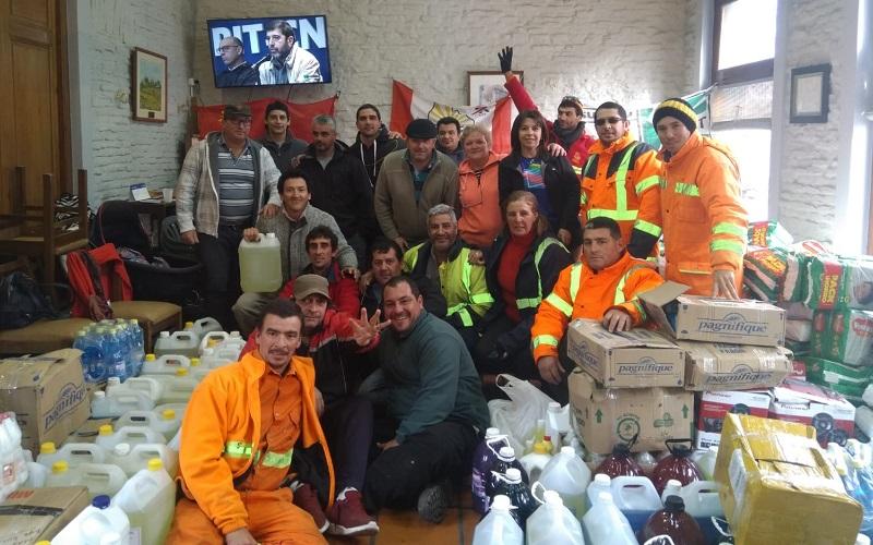 Seccional de AEBU Durazno fue la casa de la solidaridad