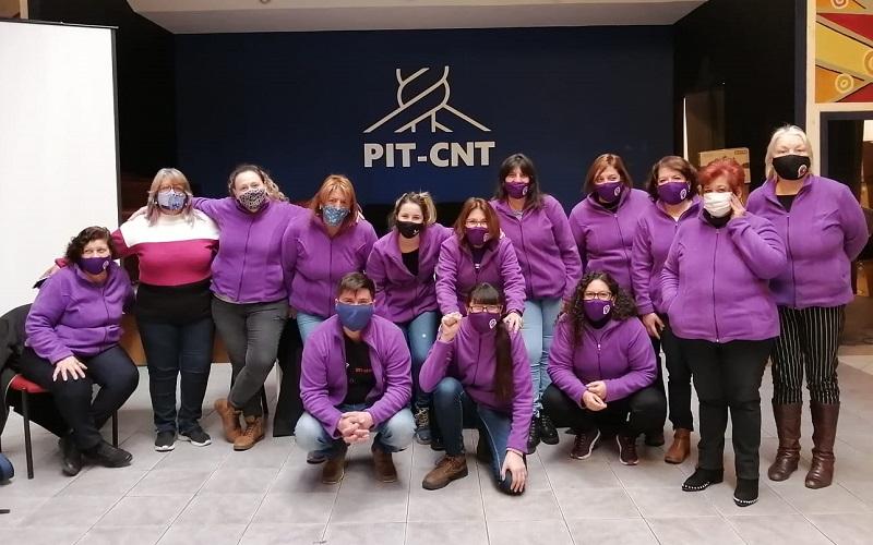 El éxito de la campaña solidaria de la Secretaría de Género del PIT-CNT