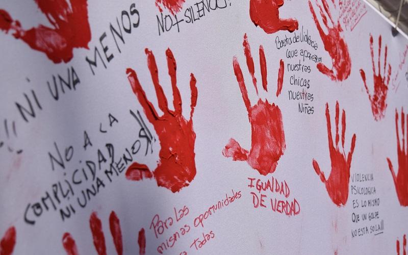 Manos unidas contra la violencia de género