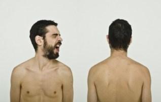 boogers de face et de dos