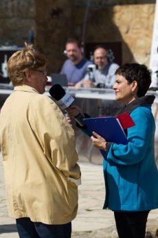 Sílvia Pedret entrevista una ex treballadora de Radio Liberty