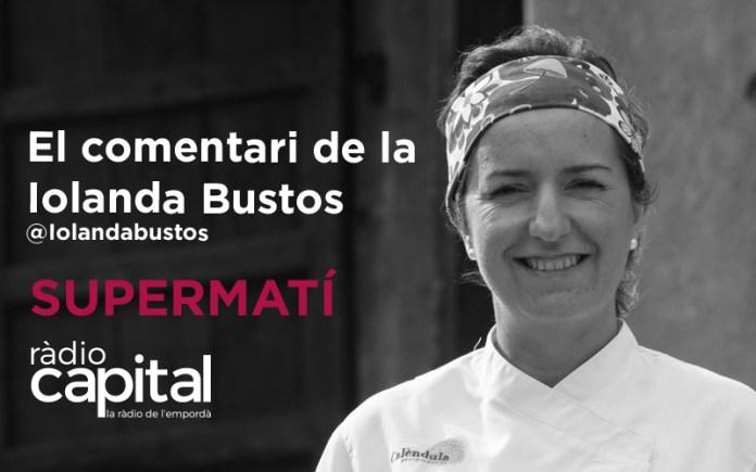 La xef empordanesa Iolanda Bustos és especialista en cuina botànica