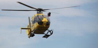 Imatge d'arxiu d'un helicòpter dels Bombers (GRAE) - Servei d'Emergències Mèdiques (SEM)