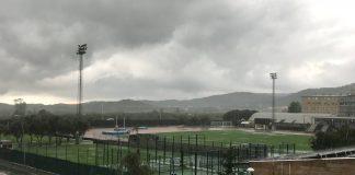 Palafrugell | Estadi Municipal de Palafrugell també inundat després de la tempesta
