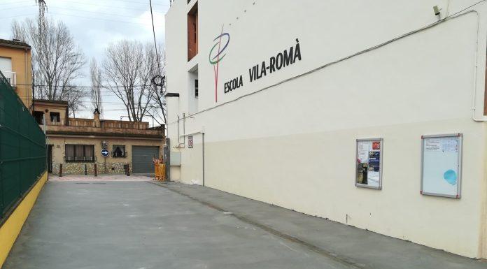 Escola Vila-Romà Palamós, nova pavimentació
