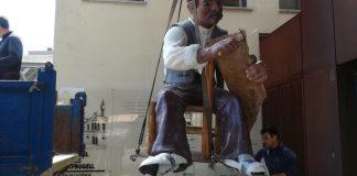 En Pepet arriba al Museu de Suro de Palafrugell | Imatge del Museu del Suro de Palafrugell