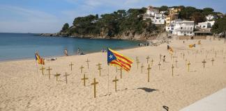 Platja de Llafranc Estelades