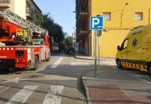Fuita de gas al Carrer Ample de Palafrugell