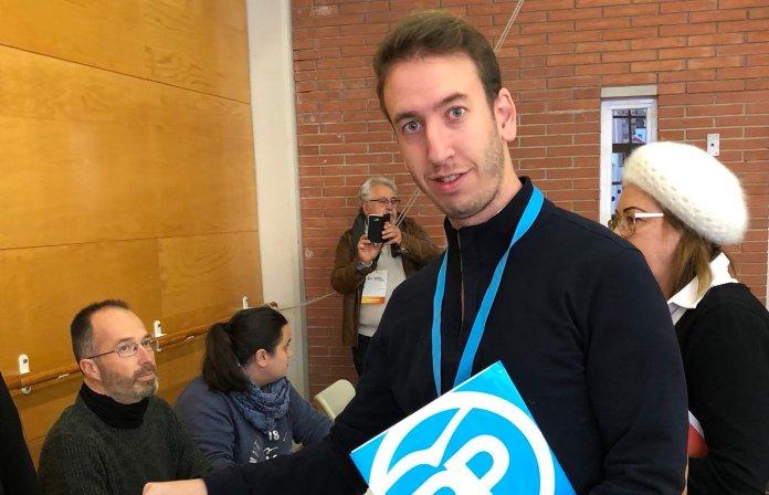 Jonathan Muela candidat a l'alcaldia de Santa Cristina d'Aro pel PP | Imatge de Jonathan Muela