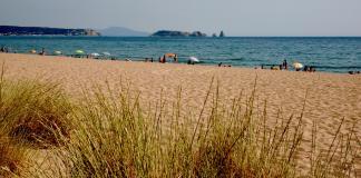 Les dunes de la Platja de Pals en una imatge d'arxiu