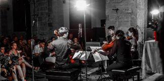 privat:-gran-exit-del-concert-del-quartet-gerhard-al-festival-de-santa-cristina-d'aro