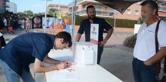 Participació ciutadana al Mercat de Sant Antoni | Imatge de l'Ajuntament de Calonge i Sant Antoni