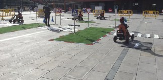 privat:-la-policia-local-organitza-un-parc-infantil-de-transit