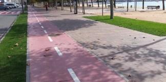 Darrer tram del passeig del Mar de Palamós | Imatge de l'Ajuntament