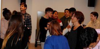 privat:-una-vintena-de-joves-de-santa-cristina-fan-un-taller-de-teatre-contra-la-violencia-masclista