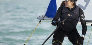 Cristina Pujol a la setmana de la vela andalusa | Imatge del Club Port d'Aro