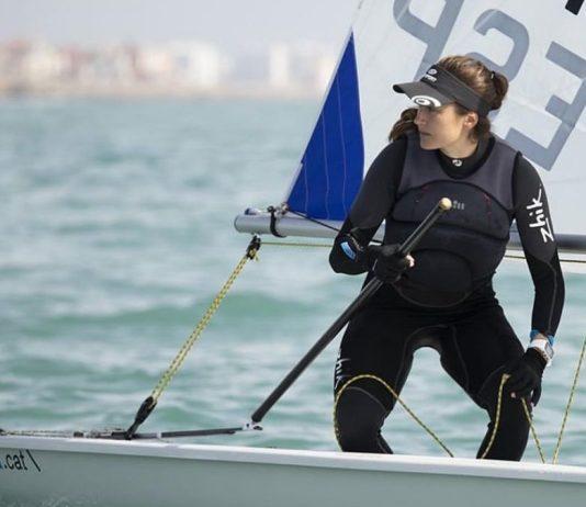 Cristina Pujol a la setmana de la vela andalusa   Imatge del Club Port d'Aro