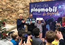 Guanyadora a la III edició de la Fira Playmobil de Begur | Imatge de l'Ajuntament de Begur