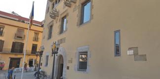 L'Ajuntament de Sant Feliu de Guíxols en una imatge d'arxiu