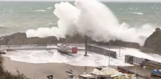 Port de Palamós - Temporal Gloria | Imatge d'Anti-Radar Catalunya