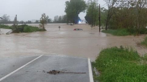 temporal abril 2020 inundacio cotxe
