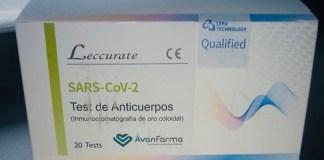 Tests d'anticossos per detecar el coronavirus COVID-19 en 15 minuts | Imatge de la Diputació de Girona
