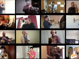 Cançó d'esperança dels músics de les Festes Majors | Captura de pantalla del vídeo compartit a xarxes socials per la campanya Arranquem la Festa