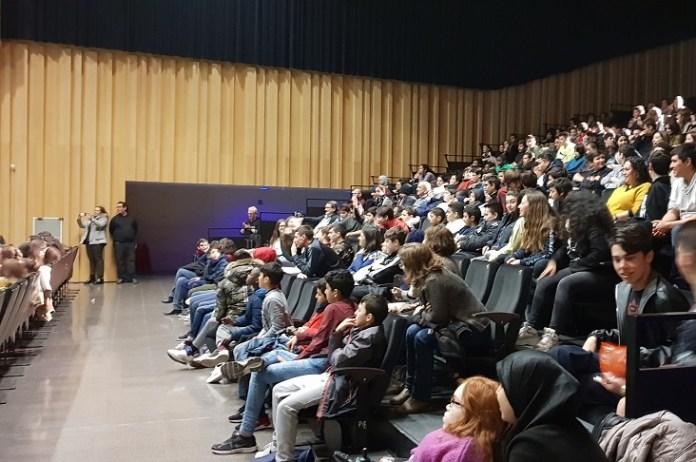 Estudiants Hotot a l'Espai Ter | Imatge de l'Auditori