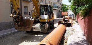 Obres de millora integral de l'Eixample | Imatge de l'Ajuntament de Palamós