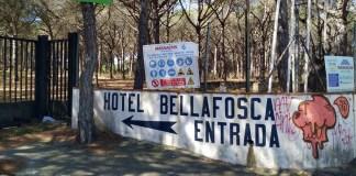 L'antic hotel Bellafosca a Palamós | Imatge de Ràdio Palamós