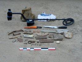 Eines confiscades a un home al costat d'Ullastret | Imatge del MAC