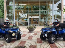 Quads de la policia local de Platja d'Aro | Imatge cedida per SOM Castell-Platja d'Aro