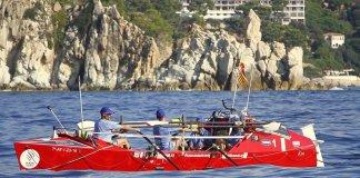 OceanCats travessant la Costa Brava | Imatge de l'Ajuntament de Blanes