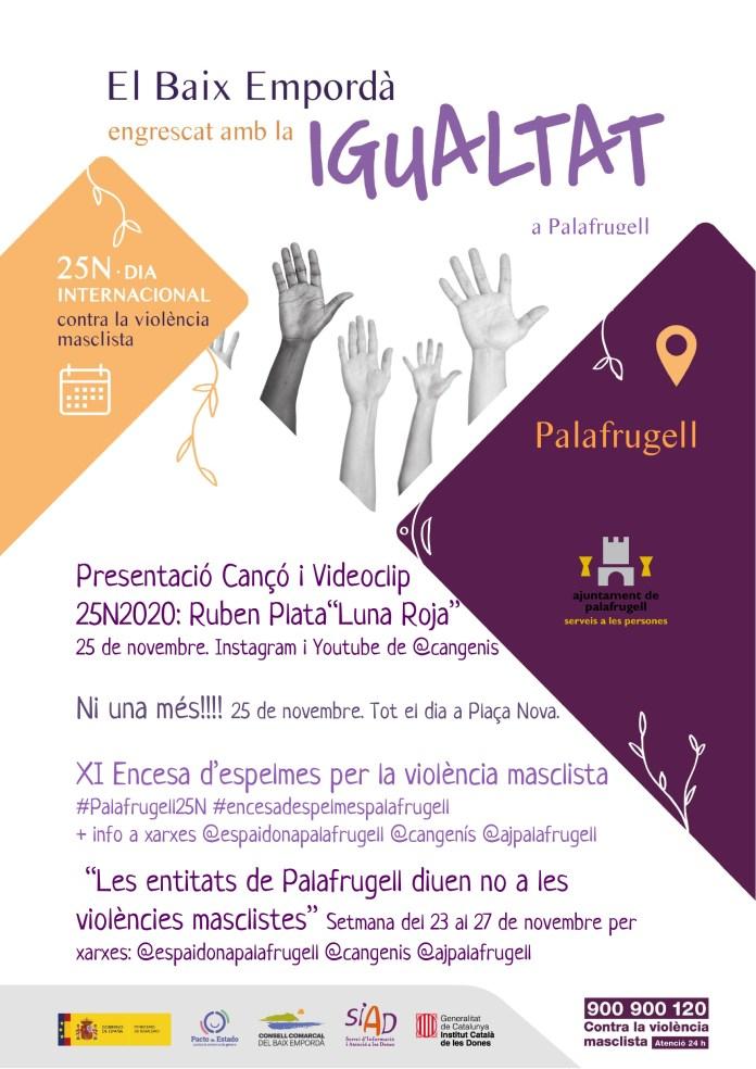 actes 25N Palafrugell