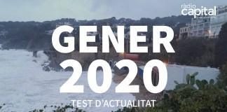 Què va passar al gener 2020 al Baix Empordà? Posa't a prova amb el test d'actualitat de Ràdio Capital de l'Empordà